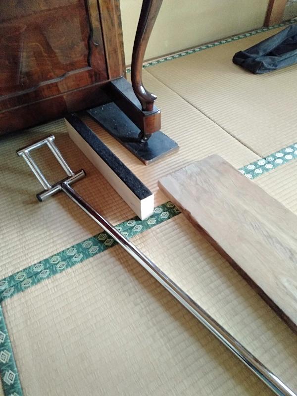 ピアノと畳 替え板